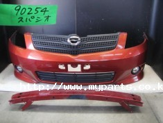 Toyota spacio 2006 front bumper with grille