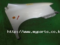 Toyota gaia 2004 right fender panel